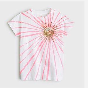 Jcrew 🆕 Crewcuts Sun Sequin Shirt Sz 14